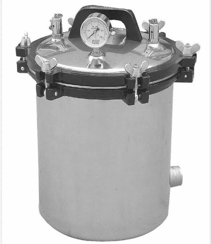 18L Liter Portable Autoclave Steam Sterilizer For Medical Dental Tattoo Professionals