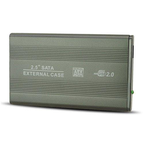 """7200Mah"" Portable Wine Pot Style Power Bank External Battery Pack - Gray (Dc 5V 2A Output)"