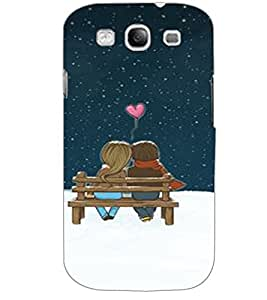 SAMSUNG GALAXY S3 LOVE COUPLE Back Cover by PRINTSWAG