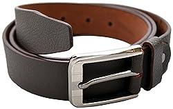 URBAN DISENO Men's Belt (Ud-belt-11_Small, Brown, Small)