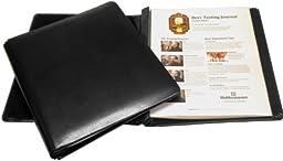 BREW NOTES Leather Beer Tasting Journal - Savor the memories! (Black)