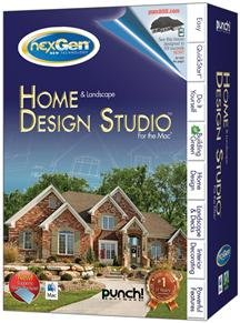 PUNCH! HOME DESIGN AND LANDSCAPE DESIGN STUDIO FOR THE MAC V2 (SOFTWARE - PRODUCTIVITY)