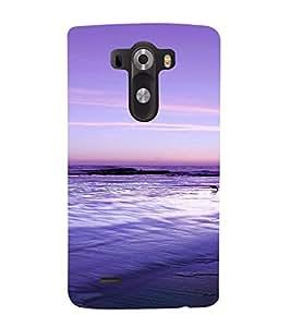 PrintVisa Travel Beach Art Design 3D Hard Polycarbonate Designer Back Case Cover for LG G3