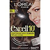 Excell 10 by L'Oreal Paris Creme Hair Colourant Permanent Dark Golden Brown (#43)