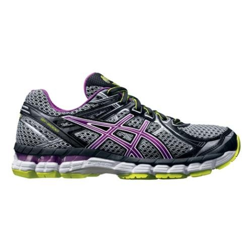 ASICS Women's GT 2000 2 Running Shoe,Black/Orchid/Flash Yellow,9 M US