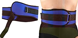 Chariot Trading - Weight Lifting Belt Gym Waist Support Power Training Work Fitness Compression Protective Adjustable Belt ZYF038 - CJ-BG-SPT-000227
