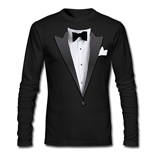 tuxedo-mens-long-sleeve-t-shirt-by-next-level-by-spreadshirt-xxl-black