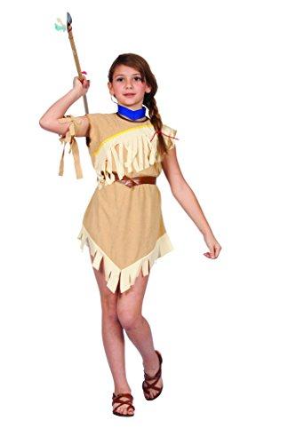 [Pocahonta- Child Costume,Medium Size] (Pocahontas Costumes Kids)