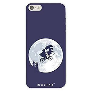 Mozine Alien Bicycle Ride Printed Mobile Back Cover For Apple Iphone 6 Plus
