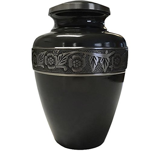 Cremation Urn: Gun Metal Grey Full Size (Urns Full Size compare prices)