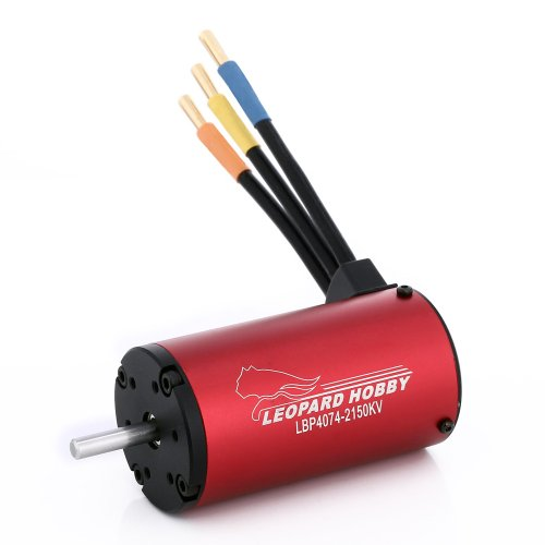 Leopard Motor Brushless Inrunner 2000Kv 4-Pole For Large Electric 1:5 & 1:8 Rc Cars And Trucks