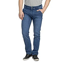 Ruace Men SLIM BLUE JEANS