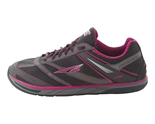 Altra Women's Provisioness Running Shoe,Charcoal/Magenta,5.5 M US