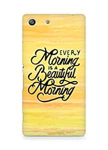 AMEZ every morning is a beautiful morning Back Cover For Sony Xperia M5