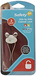 Safety 1st 2 Count Side By Side Cabinet Lock