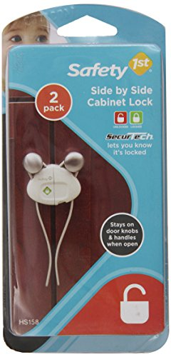 Safety 1st Side By Side Cabinet Lock, 2-Count