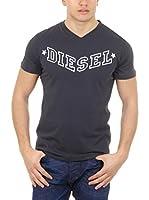 Diesel Camiseta Manga Corta T-Kritil (Gris Oscuro)