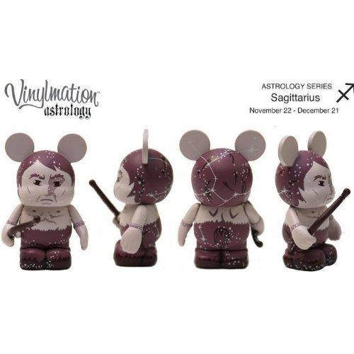 "Disney 3"" Vinylmation Figure - Astrology - Sagittarius - Nov 22 - Dec 21 - 1"