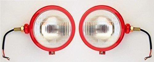 Massey Ferguson Bajato: David 11000103 Brun Case Ih Ensemble Lampe frontale Rouge