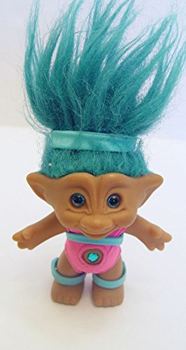 ace-novelty-aqua-haired-treasure-jewel-troll-doll-45-tall-in-workout-exercise-outfit