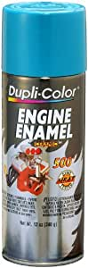 Dupli-Color DE1610 Ceramic Pontiac Blue Engine Paint - 12 oz.