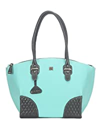 Adamis Beautiful Designed Handbag (Sea Green_B706)