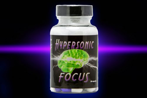 Hypersonic Focus - Brain Health Supplement Formulated to Support Memory, Focus, Concentration, and Enhanced Mental Performance