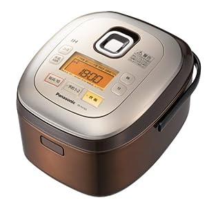 Panasonic IHジャー炊飯器 ブラウン 1.0L 5.5合炊き SR-HX103-T