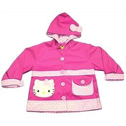 Western Chief Hello Kitty Polka Dots Rain Coat (3T)