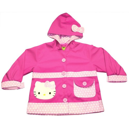 Western Chief Hello Kitty Polka Dots Rain Coat (2T)
