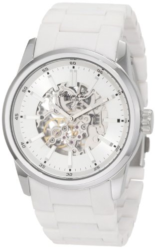 Kenneth Cole New York Men's KC9120 Automatic Silver Open Automatic Dial Watch