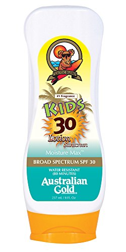 Australian Gold SPF 30 Plus Kids Formula, 8-Ounce (Pack of 12)
