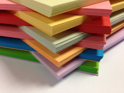 250 Sheet A4 *megapack* Card Stock 10 Different Colours By Dalton Manor