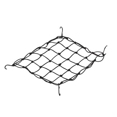 Pyramid Bicycle Bungie Cargo Net, Black