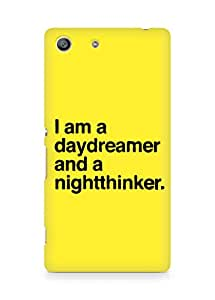 AMEZ daydreamer and night thinker Back Cover For Sony Xperia M5