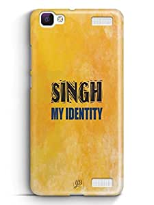 YuBingo Singh My Identity Mobile Case Back Cover for Vivo V1 Max