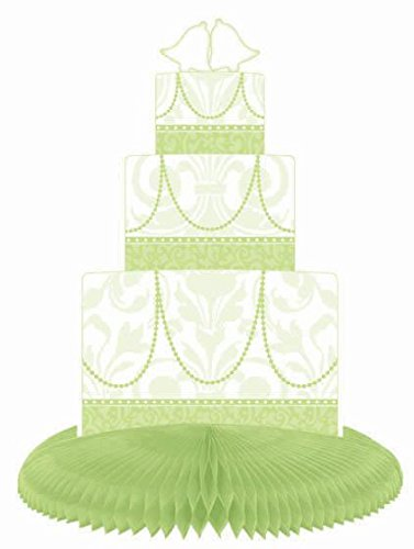 Honeycomb Dress & Cake Centerpiece - Honeydew - 1