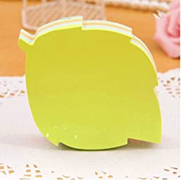 Cute Modeling Color Messages stickers Notes Sticky notes Sticky Note Multi-shape 140page Tree leaf
