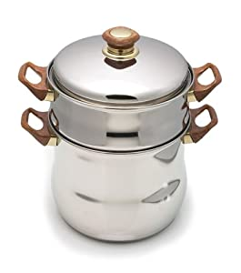 8-Quart Moroccan Couscousiere Steamer Pot