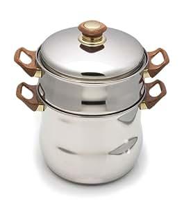 8-Quart Moroccan Couscousiere Steamer Pot