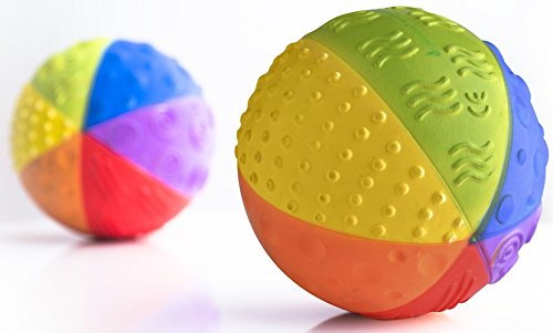 CaaOcho Baby - Natural Rubber Sensory Ball
