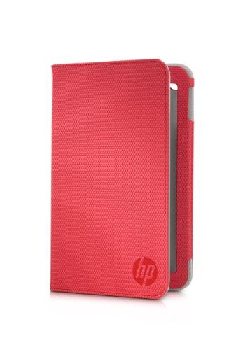 "HP Carrying Case (Folio) for 7"" Tablet - Red from Electronic-Readers.com"