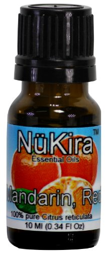 Mandarin, Red Essential Oil (Citrus reticulata) Therapeutic Grade By NuKira (10 Ml)