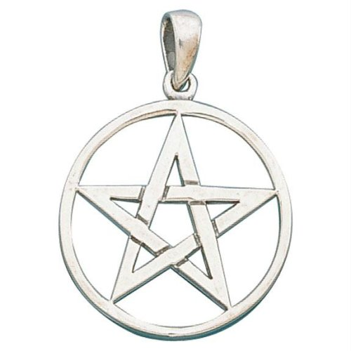 Pentacle Pendants - Sterling Silver Pendants and 14K Solid Gold