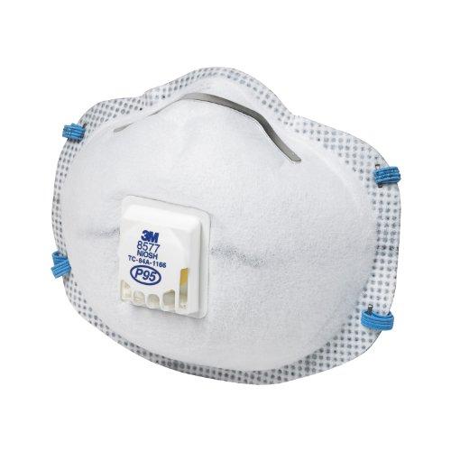 3m Tekk Paint Odor Valved Respirator 2 Pack