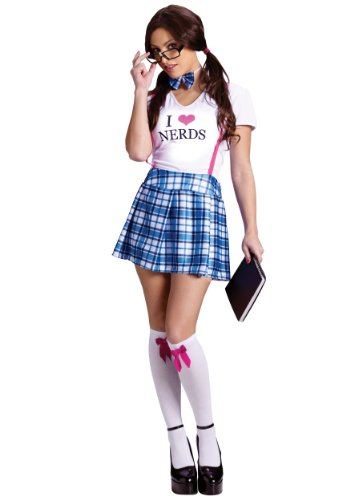 FunWorld Women's I Love Nerds Costume