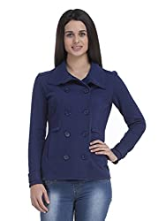 Femella Women's Jackets (DS-1521482-841_Navy_Small)