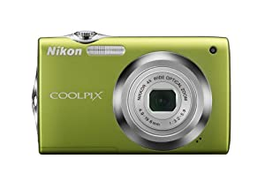 Nikon Coolpix S3000 12.0MP Digital Camera with 4x Optical Vibration Reduction (VR) Zoom and 2.7-Inch LCD (Green)