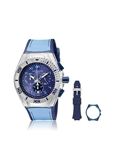 Technomarine Men's TM-115069 Cruise California Blue, Light Blue/Blue, Light Blue Stainless Steel Wat...