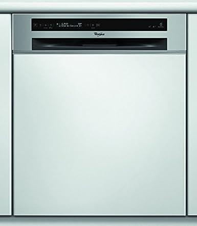 Whirlpool ADG 2040 IX lave-vaisselle - laves-vaisselles (Entièrement intégré, A, A++, Acier inoxydable, boutons, A)